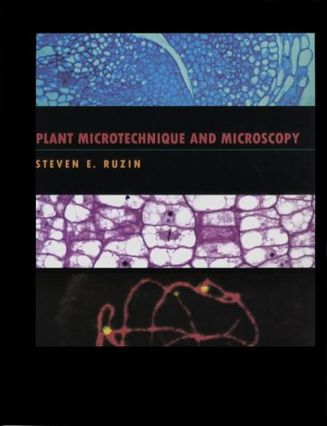 Plant Microtechnique and Microscopy   1999 edition cover