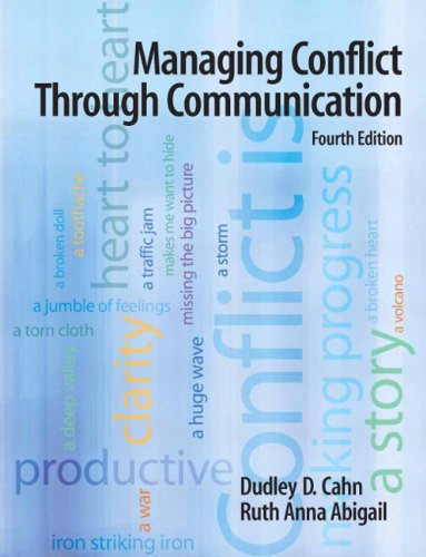 Managing Conflict Through Communication  4th 2011 edition cover
