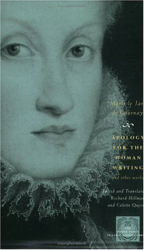 Apology for the Woman Writing and Other Works   2002 edition cover