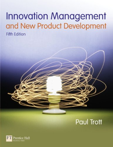 Innovation Management and New Product Development  5th 2012 (Revised) edition cover