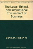 Legal, Ethical and International Environment of Business  3rd 1996 9780314064561 Front Cover