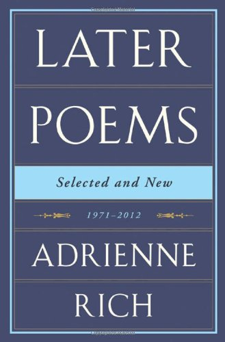 Later Poems Selected and New, 1971-2012  2012 edition cover