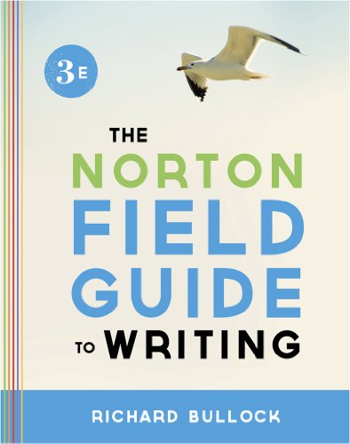 Norton Field Guide to Writing  3rd 2013 9780393919561 Front Cover