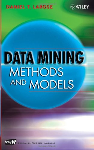 Data Mining Methods and Models   2006 edition cover