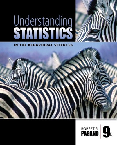 Understanding Statistics in the Behavioral Sciences  9th 2010 (Guide (Pupil's)) edition cover