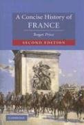 Concise History of France  2nd 2005 (Revised) edition cover