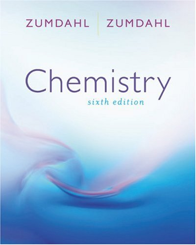 Chemistry  6th 2003 edition cover