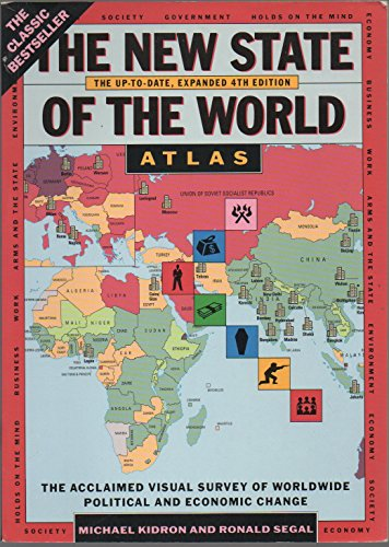 New State of the World Atlas The Up-to-Date, Expanded 4th Edition 4th (Revised) 9780671745561 Front Cover