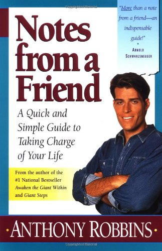 Notes from a Friend A Quick and Simple Guide to Taking Control of Your Life  1995 edition cover