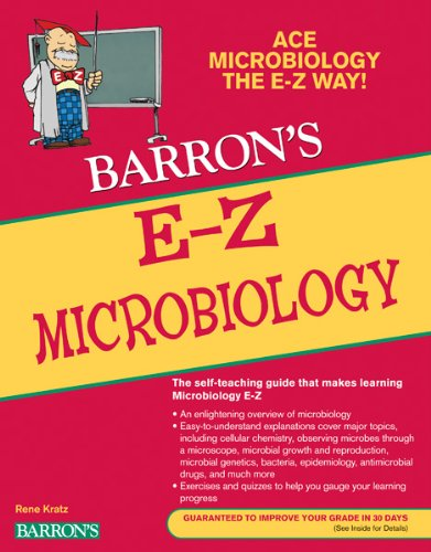 E-Z Microbiology  2nd 2011 edition cover