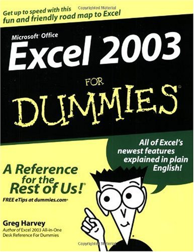 Excel 2003 for Dummies�   2003 (Revised) edition cover