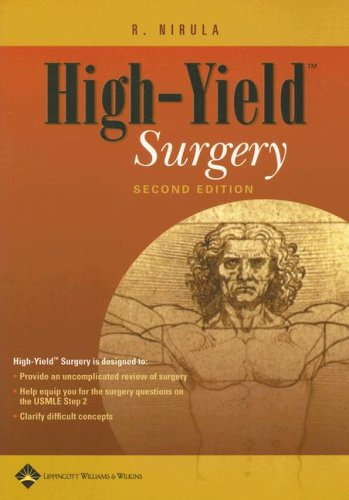 Surgery  2nd 2006 (Revised) edition cover