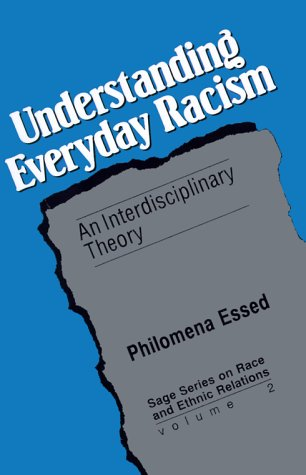 Understanding Everyday Racism An Interdisciplinary Theory  1991 edition cover