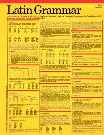 Latin Grammar   1966 edition cover