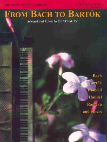 Young Pianist's Library, Bk 1A From Bach to Bart�k  1995 edition cover