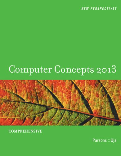 New Perspectives on Computer Concepts 2013 Comprehensive 15th 2013 edition cover