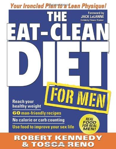 Eat-Clean Diet for Men Your Ironclad Plan for a Lean Physique!  2009 9781552100561 Front Cover