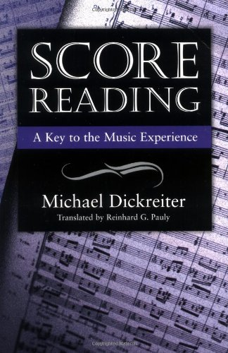 Score Reading A Key to the Musical Experience  2000 edition cover