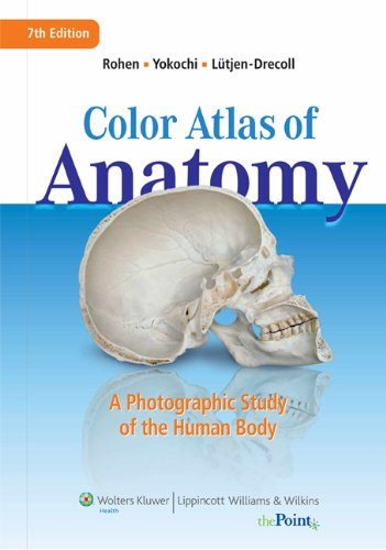 Color Atlas of Anatomy A Photographic Study of the Human Body 7th 2010 (Revised) edition cover