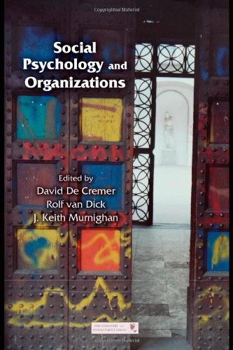 Social Psychology and Organizations   2011 9781848728561 Front Cover