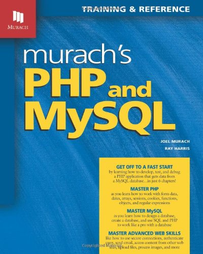 Murach's PHP and MySQL   2010 9781890774561 Front Cover