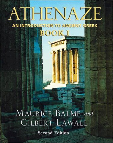 Athenaze An Introduction to Ancient Greek 2nd 2003 (Revised) edition cover