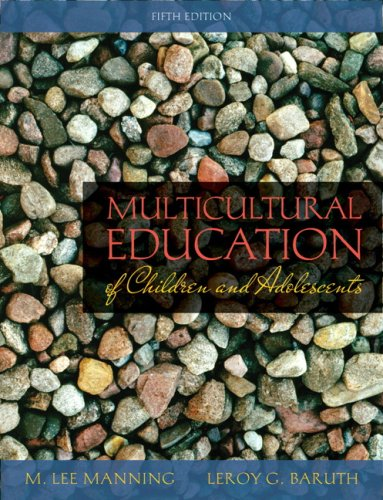 Multicultural Education of Children and Adolescents  5th 2009 edition cover