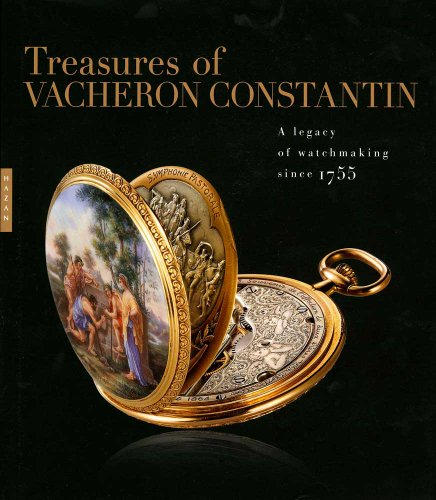 Treasures of Vacheron Constantin A Legacy of Watchmaking Since 1755  2012 edition cover