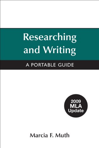 Researching and Writing with 2009 MLA Update   2009 (Revised) 9780312607562 Front Cover