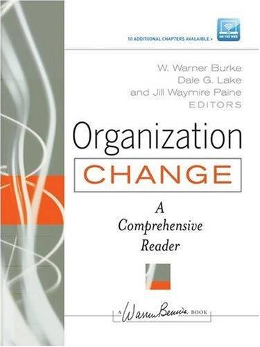 Organization Change   2009 edition cover