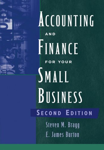 Accounting and Finance for Your Small Business  2nd 2006 (Revised) edition cover