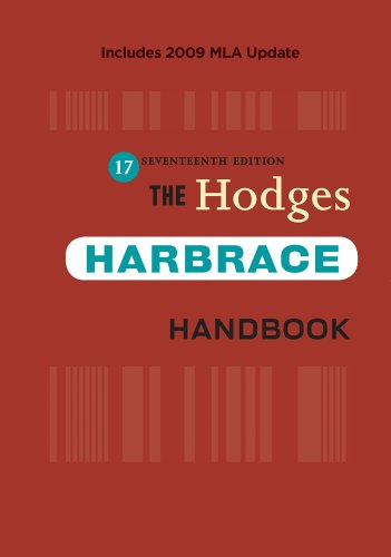Hodges Harbrace 2009  17th 2010 (Revised) edition cover
