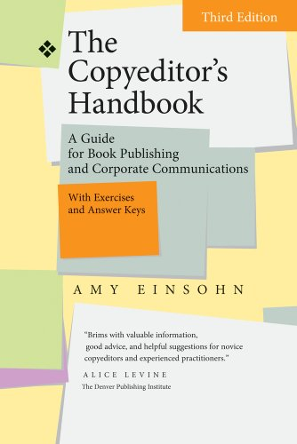 Copyeditor's Handbook A Guide for Book Publishing and Corporate Communications with Exercises and Answer Keys 3rd 2011 edition cover