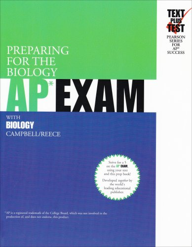 Preparing for the Biology AP Exam with Biology   2004 9780536731562 Front Cover