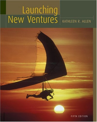 Launching New Ventures  5th 2009 9780547014562 Front Cover