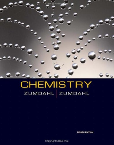 Chemistry  8th 2010 9780547168562 Front Cover
