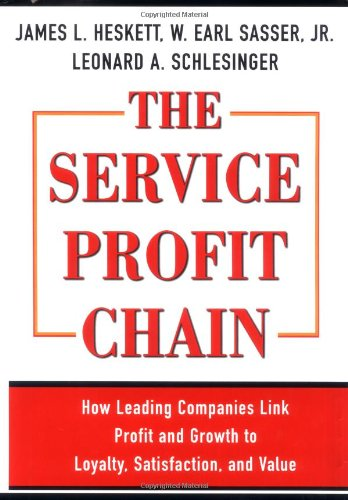 Service Profit Chain   1997 edition cover