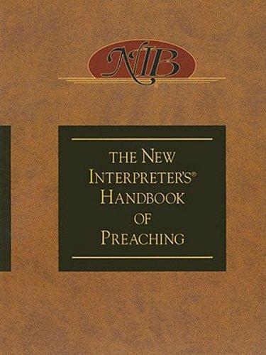 New Interpreter's Handbook of Preaching  N/A edition cover