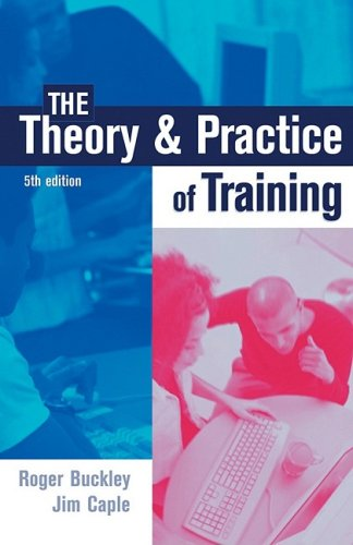 Theory and Practice of Training  5th 2004 (Revised) 9780749441562 Front Cover