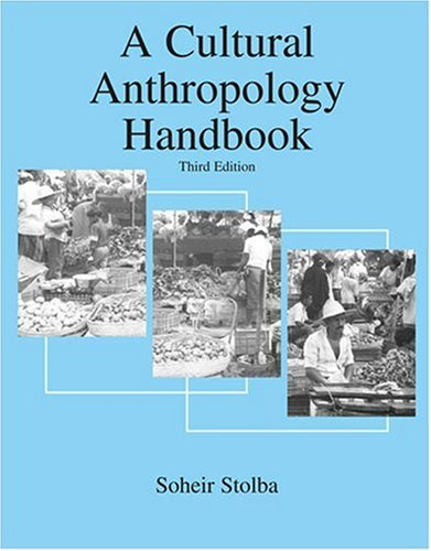 Cultural Anthropology Handbook  3rd (Revised) 9780757527562 Front Cover