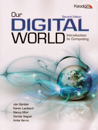 OUR DIGITAL WORLD-TEXT         N/A edition cover