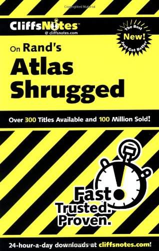 CliffsNotes on Rand's Atlas Shrugged   2000 edition cover