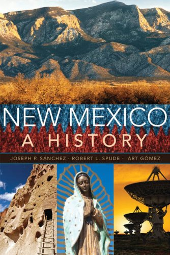 New Mexico A History N/A edition cover