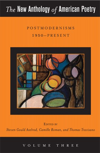 New Anthology of American Poetry Postmodernisms 1950-Present  2012 edition cover