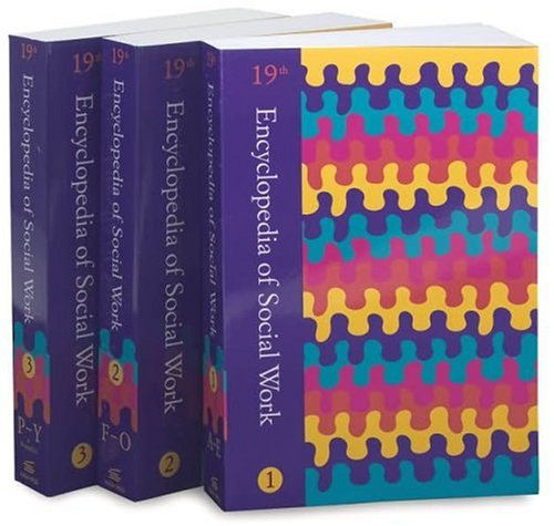 Encyclopedia of Social Work (3 Volume Set) 9th 1995 (Expanded) edition cover