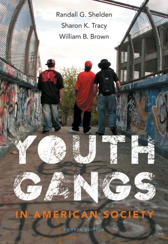 Youth Gangs in American Society  4th 2013 edition cover