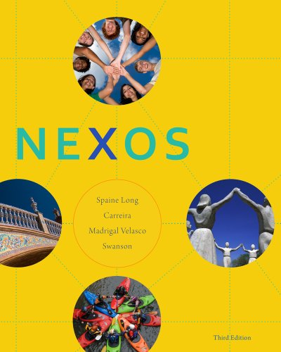Bundle: Nexos, 3rd + ILrn: Heinle Learning Center 3-Semester Printed Access Card Nexos, 3rd + ILrn: Heinle Learning Center 3-Semester Printed Access Card 3rd 2013 edition cover