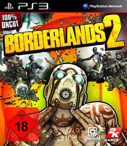 Borderlands 2 PlayStation 3 artwork
