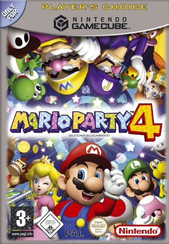 Mario Party 4 [Player's Choice] GameCube artwork