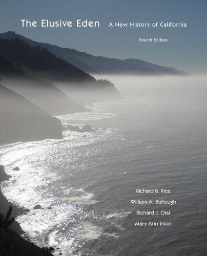 Elusive Eden A New History of California 4th 2012 edition cover